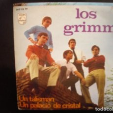 Discos de vinilo: LOS GRIMM- UN PALACIO DE CRISTAL. SINGLE.. Lote 271127988