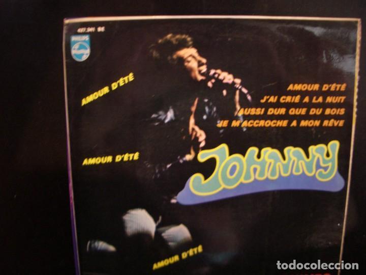 JOHNNY HALLIDAY- AMOUR D´ETÉ. EP. (Música - Discos de Vinilo - EPs - Rock & Roll)