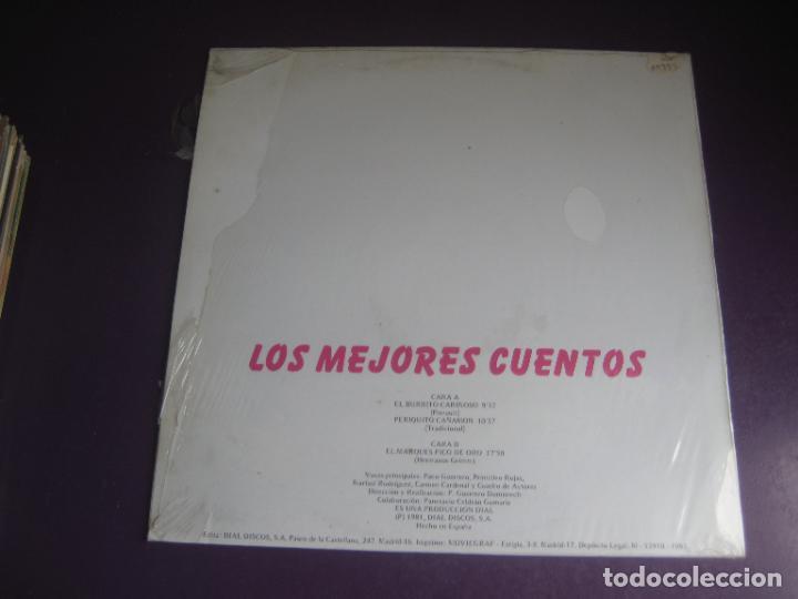 Discos de vinilo: LOS MEJORES CUENTOS VOL 9 - LP DOBLON 1981 - EL BURRITO CARIÑOSO- PERIQUILLO CAÑAMON -ETC - Foto 2 - 271144873