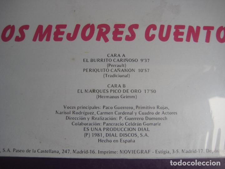 Discos de vinilo: LOS MEJORES CUENTOS VOL 9 - LP DOBLON 1981 - EL BURRITO CARIÑOSO- PERIQUILLO CAÑAMON -ETC - Foto 3 - 271144873