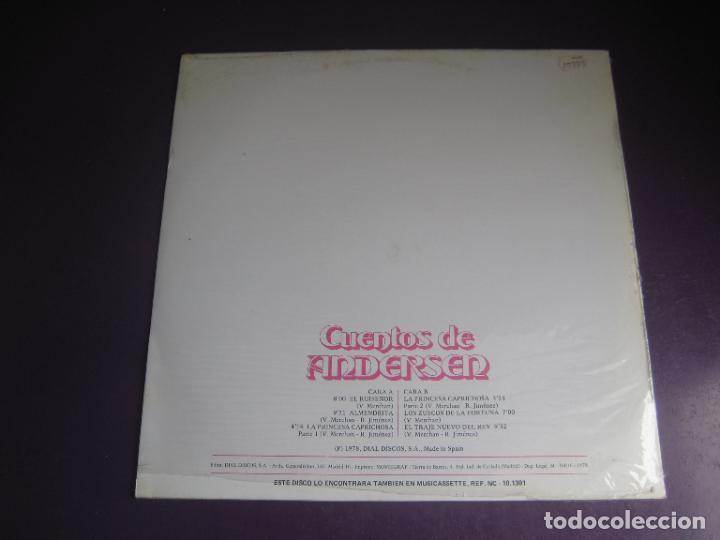 Discos de vinilo: CUENTOS DE ANDERSEN - LP NEVADA 1978 - EL TRAJE NUEVO DEL REY - EL RUISEÑOR - ALMENDRITA ETC - Foto 2 - 271145473