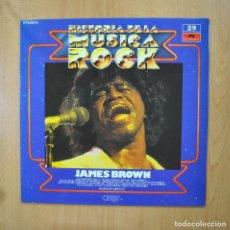 Discos de vinilo: JAMES BROWN - HISTORIA DE LA MUSICA ROCK - LP. Lote 271146163