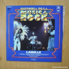 Discos de vinilo: LABELLE - HISTORIA DE LA MUSICA ROCK - LP. Lote 271146578