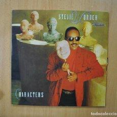 Discos de vinilo: STEVIE WONDER - CHARACTERS - GATEFOLD LP. Lote 271148003