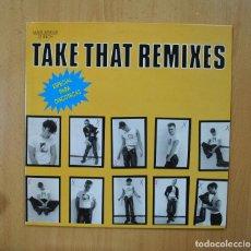 Discos de vinilo: TAKE THAT - REMIXES - MAXI. Lote 271148103