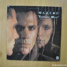 Discos de vinilo: GAZEBO - TELEPHONE MAMA - LP. Lote 271148588