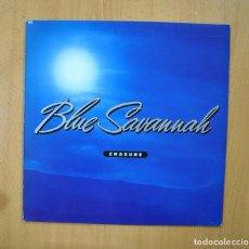 Discos de vinilo: ERASURE - BLUE SAVANNAH - MAXI. Lote 271148738