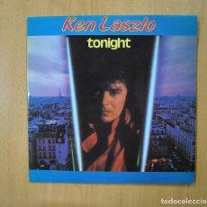 Discos de vinilo: KEN LASZLO - TONIGHT - MAXI. Lote 271149213