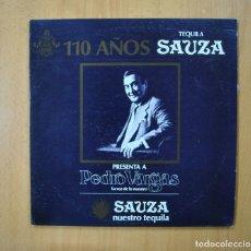 Discos de vinilo: PEDRO VARGAS - LA VOZ DE LO NUESTRO - LP. Lote 271149263