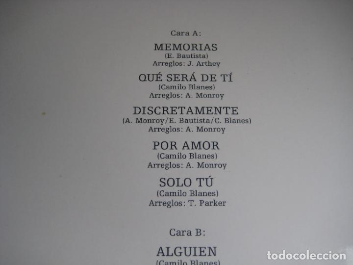 Discos de vinilo: Camilo Sesto – Memorias - LP ARIOLA 1976 - MELODICA POP - LEVE USO, NADA GRAVE - Foto 4 - 271152228