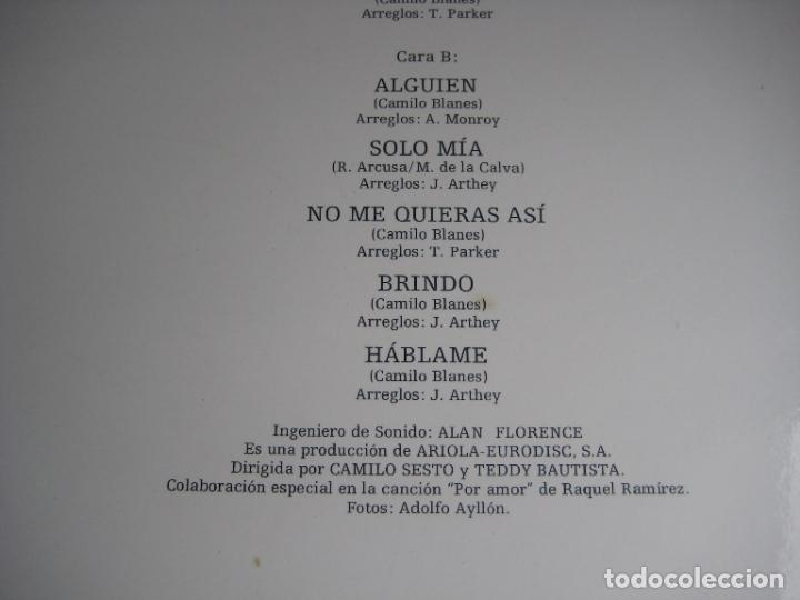 Discos de vinilo: Camilo Sesto – Memorias - LP ARIOLA 1976 - MELODICA POP - LEVE USO, NADA GRAVE - Foto 5 - 271152228