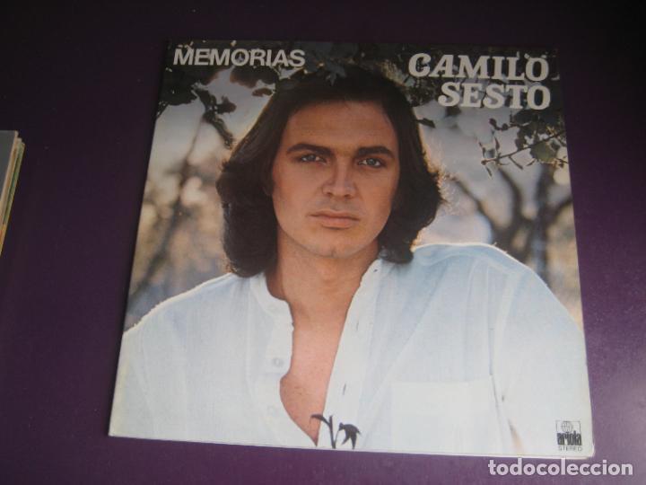 CAMILO SESTO – MEMORIAS - LP ARIOLA 1976 - MELODICA POP - LEVE USO, NADA GRAVE (Música - Discos - LP Vinilo - Solistas Españoles de los 70 a la actualidad)