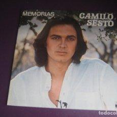 Discos de vinilo: CAMILO SESTO – MEMORIAS - LP ARIOLA 1976 - MELODICA POP - LEVE USO, NADA GRAVE. Lote 271152228
