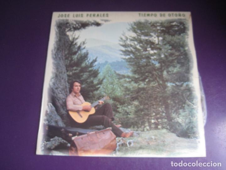 JOSE LUIS PERALES – TIEMPO DE OTOÑO - LP HISPAVOX 1979 - MELODICA POP 70 80S - LEVE USO, NADA GRAVE (Música - Discos - LP Vinilo - Solistas Españoles de los 70 a la actualidad)