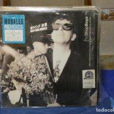 Disques de vinyle: MAXI SINGLE PET SHOP BOYS WHERE THE STREETS HAVE NO NAME MORALES REMIXES BUEN ESTADO. Lote 271156848