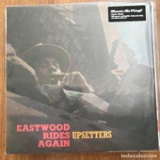 Discos de vinilo: UPSETTERS - EASTWOOD RIDES AGAIN (1970) - LP REEDICIÓN MUSIC ON VINYL 2020 NUEVO. Lote 271192898