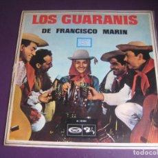 Discos de vinilo: LOS GUARANIS D FRANCISCO MARIN - LP MOVIEPLAY 1968 - FOLK TRADICIONAL SUDAMERICA - LEVE USO NO GRAVE. Lote 271208908