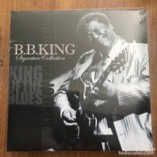 Discos de vinilo: B.B. KING -SIGNATURE COLLECTION - LP DOBLE VINYL PASSION 2014 NUEVO. Lote 271229853