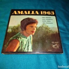 Discos de vinilo: AMALIA RODRIGUES. AMALIA 1963. EP. LA VOZ DE SU AMO, 1963. SPAIN (#). Lote 271362538