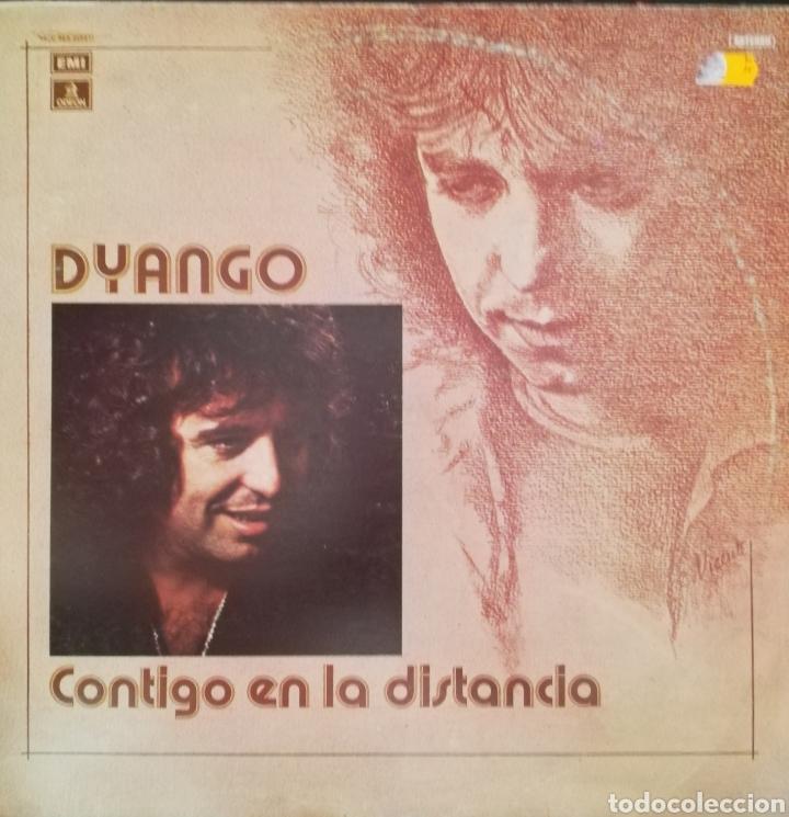 DYANGO. LP. SELLO EMI ODEON. EDITADO EN ESPAÑA. AÑO 1977 (Música - Discos - LP Vinilo - Solistas Españoles de los 70 a la actualidad)