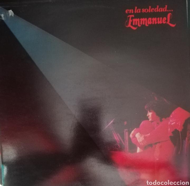 EMMANUEL. LP. SELLO RCA VICTOR. EDITADO EN ESPAÑA. AÑO 1983 (Música - Discos - LP Vinilo - Solistas Españoles de los 70 a la actualidad)