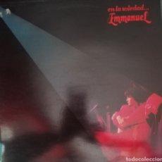 Discos de vinilo: EMMANUEL. LP. SELLO RCA VICTOR. EDITADO EN ESPAÑA. AÑO 1983. Lote 271364198