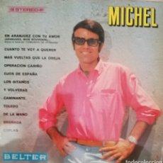 Discos de vinilo: MICHEL. LP. SELLO BELTER. EDITADO EN ESPAÑA. AÑO 1968. Lote 271364778