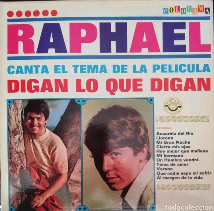 RAPHAEL. LP. SELLO COLORAMA. EDITADO EN VENEZUELA. (Música - Discos - LP Vinilo - Solistas Españoles de los 70 a la actualidad)