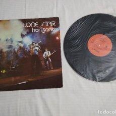 Discos de vinilo: LP LONE STAR / HORIZONTE / LP 33 RPM / PHONIC 1977 / DISCO NUEVO /PORTADA POQUITAS SEÑALES DE USO. Lote 271370488