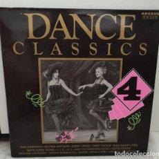 Discos de vinilo: VARIOUS – DANCE CLASSICS 4 2 × VINYL, LP, COMPILATION. Lote 271371448