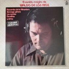 Discos de vinilo: WALDO DE LOS RÍOS. LP. SELLO HISPAVOX. EDITADO EN ESPAÑA. AÑO 1979. Lote 271371848