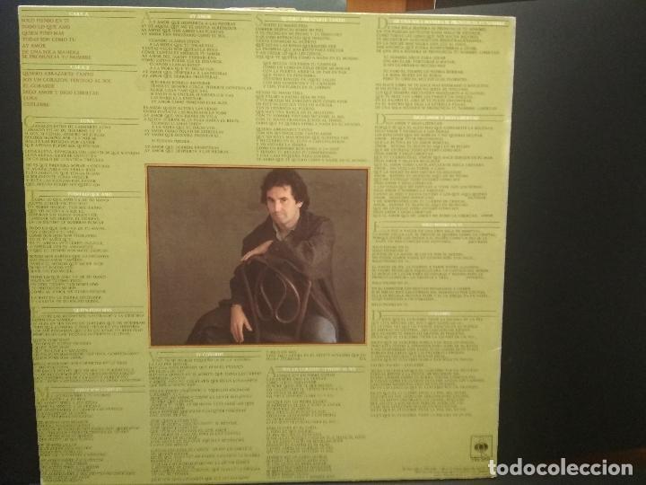 Discos de vinilo: VICTOR MANUEL GRANDES EXITOS(LP SPAIN CBS 1982) PEPETO - Foto 2 - 271378038