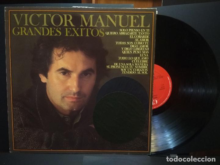 VICTOR MANUEL GRANDES EXITOS(LP SPAIN CBS 1982) PEPETO (Música - Discos - LP Vinilo - Solistas Españoles de los 70 a la actualidad)