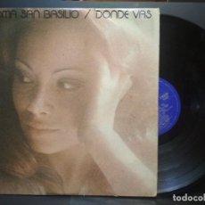 Discos de vinilo: PALOMA SAN BASILIO DONDE VAS... HISPAVOX HH 11-333 LP 1977 PRIMERA EDICIÓN PEPETO. Lote 271382268