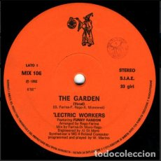 Discos de vinilo: 'LECTRIC WORKERS FEATURING FUNNY RANDON – THE GARDEN. Lote 271383173