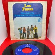 Discos de vinilo: LOS PASOS - NACI DE PIE/NO ENCUENTRO COMPRENSION 7 SINGLE 1966 HISPAVOX. Lote 271383558