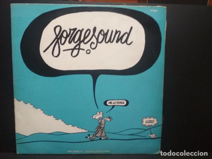 Discos de vinilo: FORGESOUND -LP 1976 -DOBLE PORTADA -TEDDY BAUTISTA-AUTE-ROSA LEON PEPETO - Foto 2 - 271385068