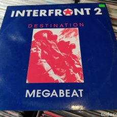 Discos de vinilo: INTERFRONT 2 –DESTINATION. VINILO 1991. Lote 271385733