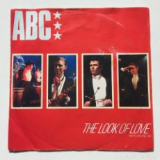 Discos de vinilo: ABC – THE LOOK OF LOVE (PARTS ONE AND TWO) HOLANDA,1982 MERCURY. Lote 61839888