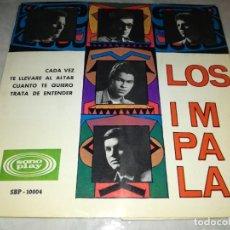 Discos de vinilo: LOS IMPALA-CADA VEZ-ORIGINAL AÑO 1966. Lote 271392513