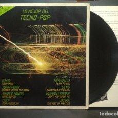 Discos de vinilo: LO MEJOR DEL TECNO POP, LP VIRGIN SPAIN 1982 - OMD Y OTROS PEPETO. Lote 271395153