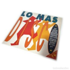 Discos de vinilo: LO MAS DISCO VOL.1. Lote 271395423