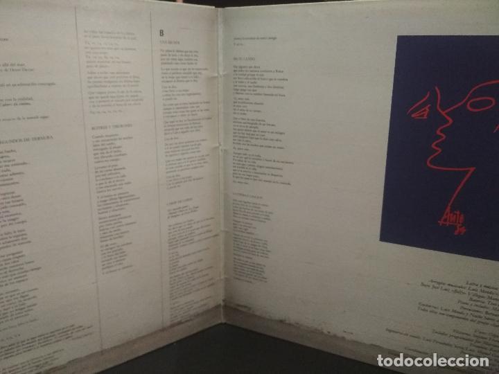 Discos de vinilo: LUIS EDUARDO AUTE - CUERPO A CUERPO - ARIOLA 1984-PORTADA DOBLE PEPETO - Foto 2 - 271398103