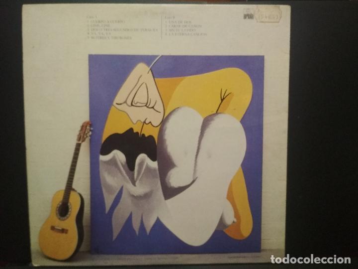 Discos de vinilo: LUIS EDUARDO AUTE - CUERPO A CUERPO - ARIOLA 1984-PORTADA DOBLE PEPETO - Foto 3 - 271398103
