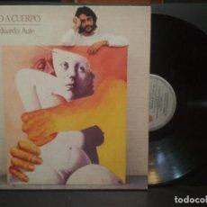 Discos de vinilo: LUIS EDUARDO AUTE - CUERPO A CUERPO - ARIOLA 1984-PORTADA DOBLE PEPETO. Lote 271398103