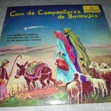 Discos de vinilo: CORO DE CAMPANILLEROS DE BORMUJOS-ORIGINAL AÑO 1959-EN BUEN ESTADO. Lote 271399533