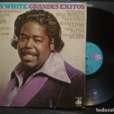 Discos de vinilo: LP. BARRY WHITE. GRANDES ÉXITOS. 20 CENTURY RECORDS. MOVIE PLAY. 1975 PEPETO. Lote 271399833