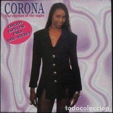 Discos de vinilo: CORONA – THE RHYTHM OF THE NIGHT. Lote 271402528