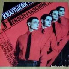 Discos de vinilo: X11 - KRAFTWERK. DIE MENSCH MASCHINE. LP VINILO. NUEVO. Lote 271403093