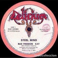 Discos de vinilo: STEEL MIND – BAD PASSION. Lote 271404813